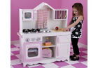Kidkraft Modern Country Wooden Pink Kitchen Set 53222 Girls Toy