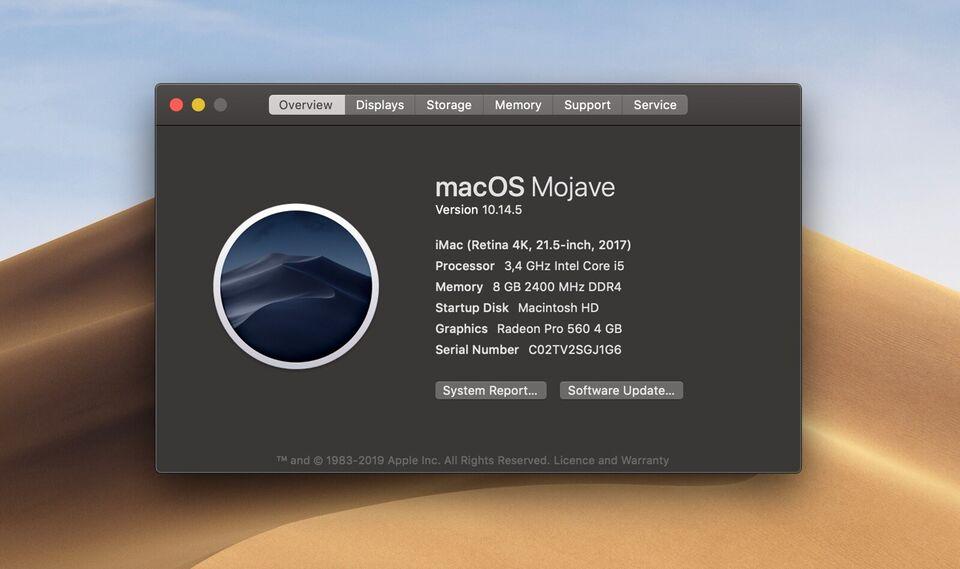 iMac, Retina 4K, 2017
