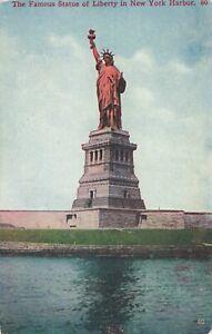 Postcard-Statue-of-Liberty-New-York-Harbor