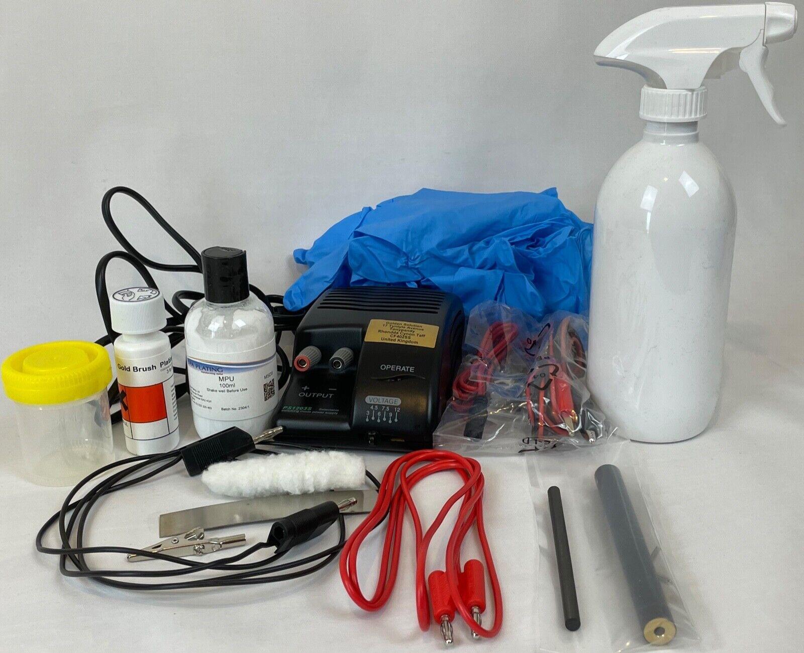 Budget Gold Brush Electroplating Kit