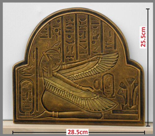 SULPTURE wall art EGIPTIAN Goddess of Justice-MAAT wall hanging