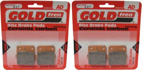 Brake Disc Pads Front Goldfren For Honda TRX 420 FM8 Fourtrax Rancher 4x4 2008