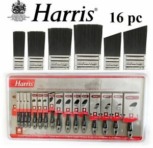 Harris-Pennello-16pc-smoothglide-Set-PENNELLI-PITTURA-DECORAZIONI-di-qualita