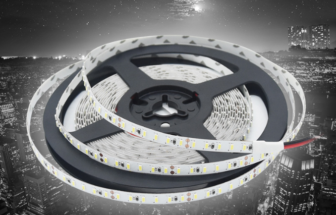 LED Strip Flexible Tape 5M  Super Bright Lights  Commercial Grade  Weiß