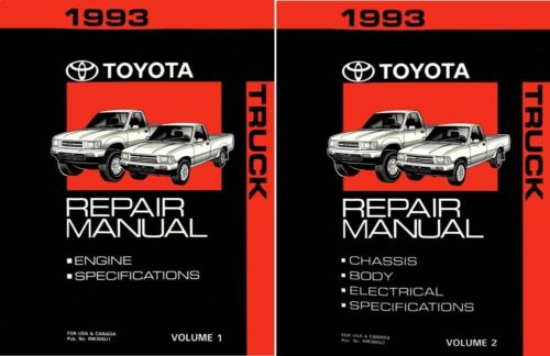 1993 Toyota Truck Shop Service Repair Manual