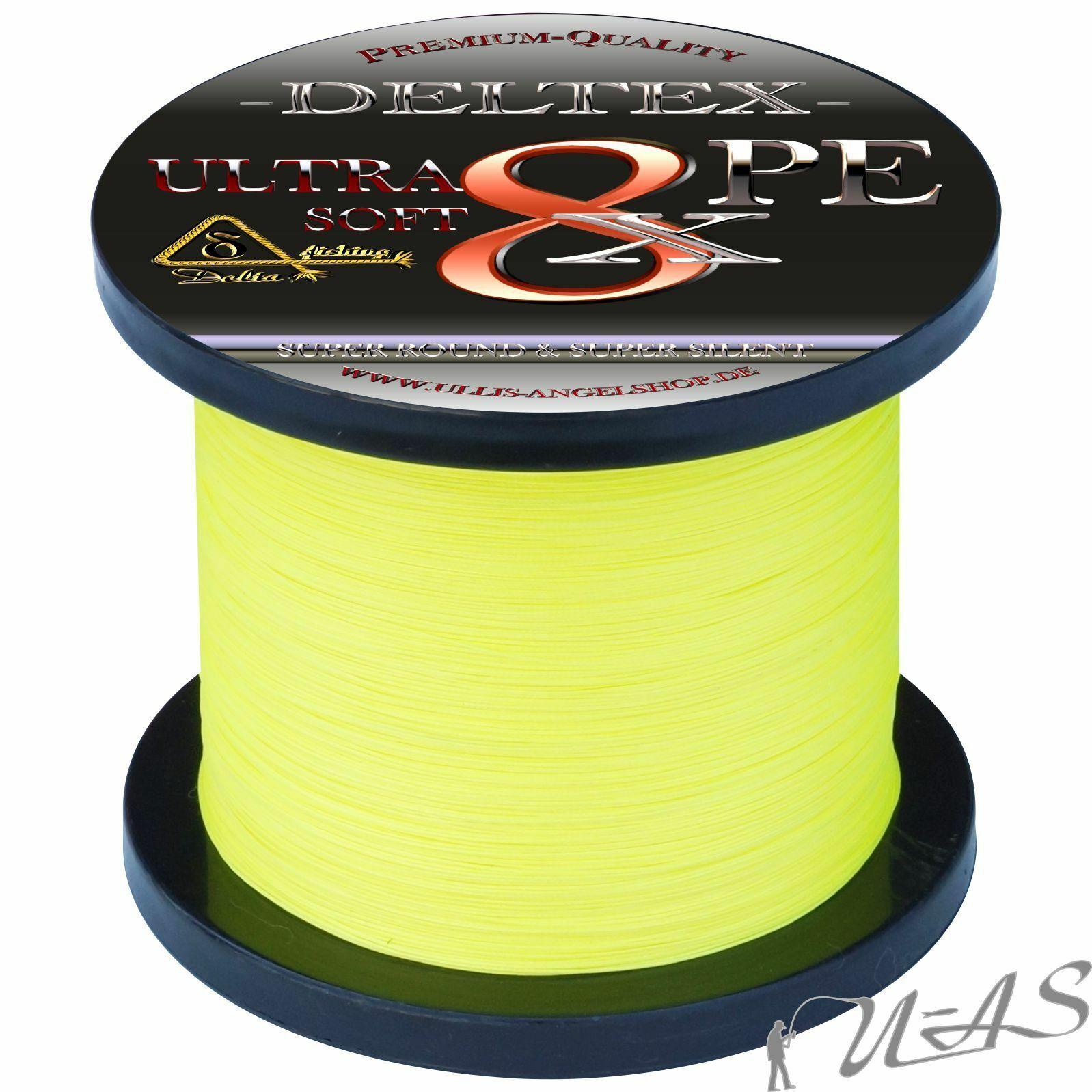Deltex Ultra Soft Gituttio 0,32m 23.90kg 1000m 8 volte intrecciato lenza KVA