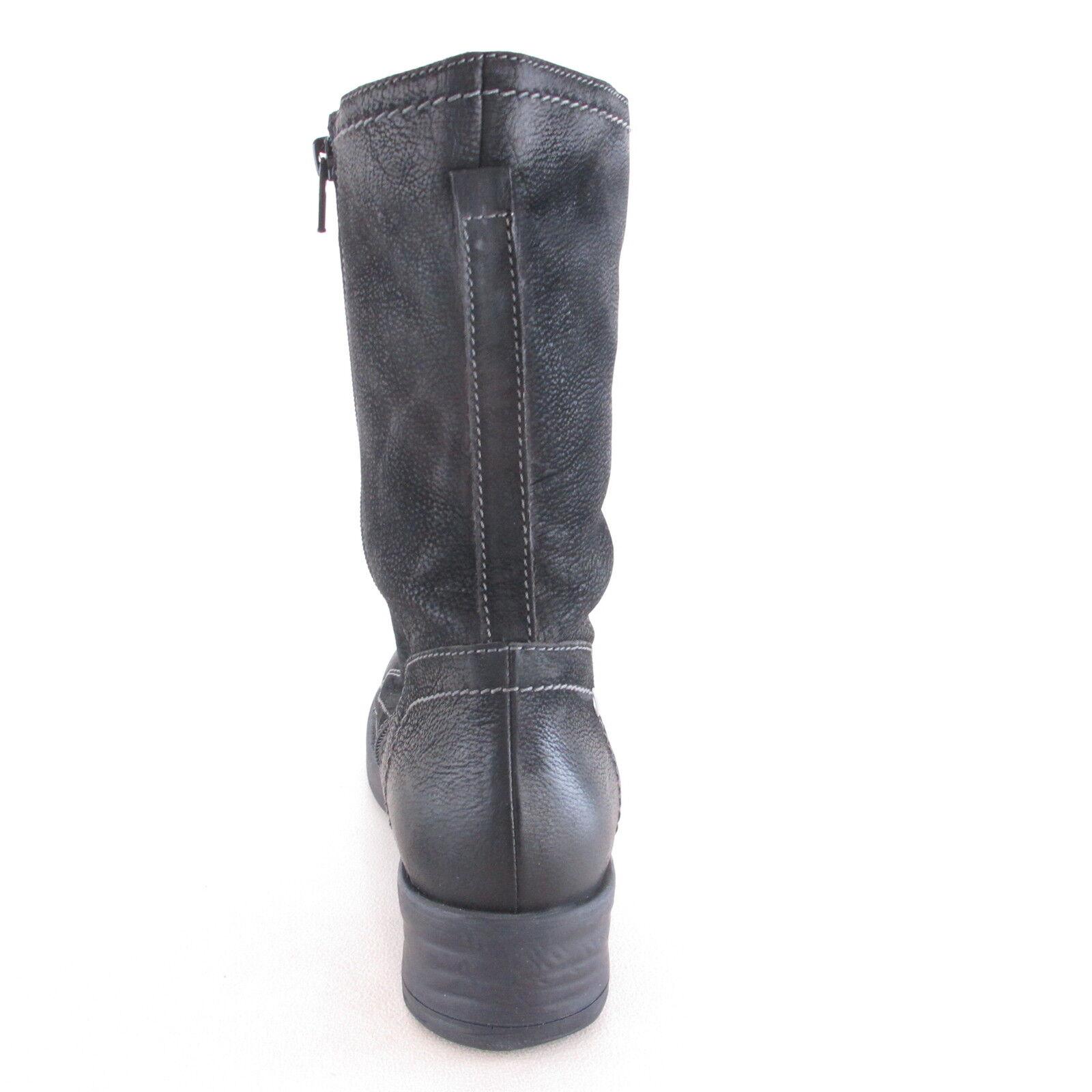 463a5b537 ... Tamaris brevemente botas nuevo nobuck-cuero zapatos señora botas de  caña ata ...