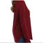 thumbnail 4 - True Craft Thermal Long Sleeves Shirt Burgundy Red Size Jr S