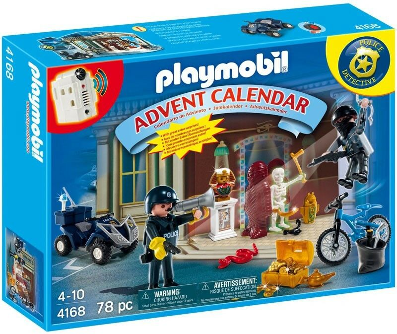 PLAYMOBIL Advent Calendar Christmas Police Set   4168  articles promotionnels