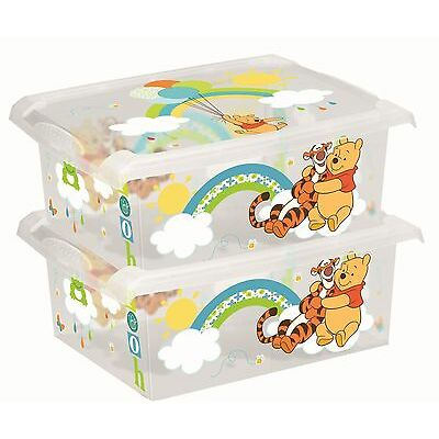 2 x Spielzeugkiste Spielzeugbox Box Fashion-Box  Disney Winnie Pooh  10 L