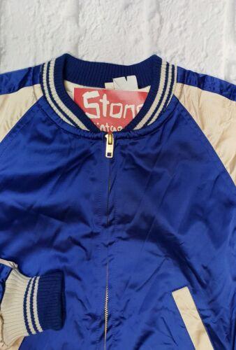 Cream Blue Baseball Vêtements Soie Amp; Jacket Lvc Vintage Levis rxQoWdCBe