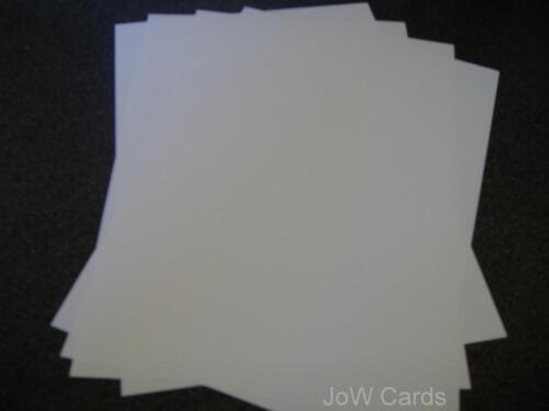 Papel Blanco 50 120gsm insertos para alto y delgado 3 X 8 tarjetas-tarjeta haciendo Papercraft