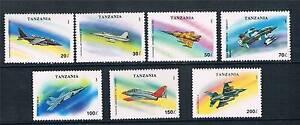 Tanzania-1993-Military-Aircraft-SG-1673-9-MNH