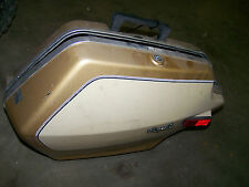yamaha venture royale 1200 alluvial gold lh left saddlebag luggage 1984 83 84 85
