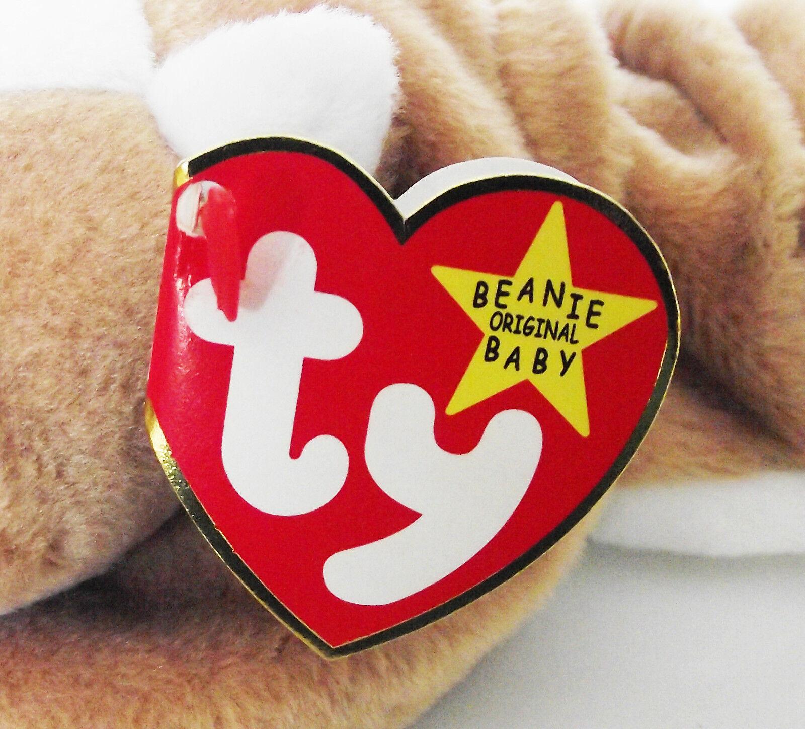 TY BEANIE BEANIE BEANIE BABY WRINKLES DOG ERRORS PVC 5TH GEN SWING 6TH TUSH RETIRED MINT NEW 0514ef