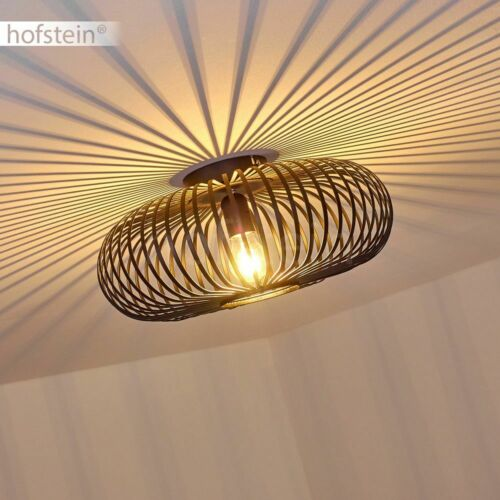 schwarze Dielen Flur Lampe Lichteffekt Decken Leuchten Design Wohn Schlaf Zimmer