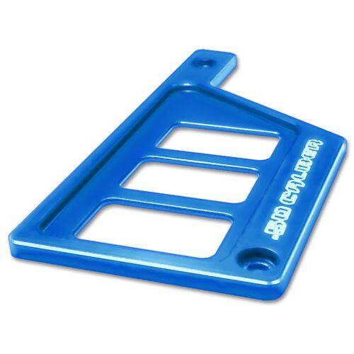 Blue Polaris RZR XP 1000 Left Side 3 Switch Dash Panel Aluminum 50 Caliber USA