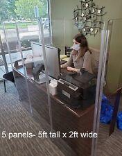 Germ Shield Wall Wall Divider Plexiglass Wall Booth Divider Ds4l