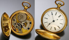 Antique Imperial Watch Co. Pocket Watch with Sweep Second Hand CA1860s