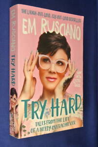 TRY-HARD-Em-Rusciano-TALES-FROM-THE-LIFE-OF-A-NEEDY-OVERACHIEVER-Comedian-Book