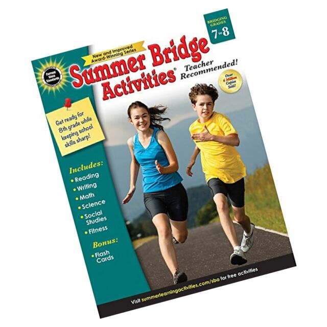 Summer Bridge Activities, Grades 7-8 New   eBay
