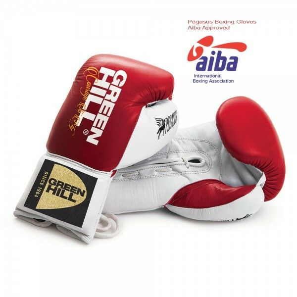Grünhill Pro Fight Boxhandschuhe Pegasus Training Sparring Quality Leather