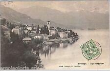 55694 -- CARTOLINA d'Epoca - SVIZZERA  Ticino :  BRISSAGO  1907