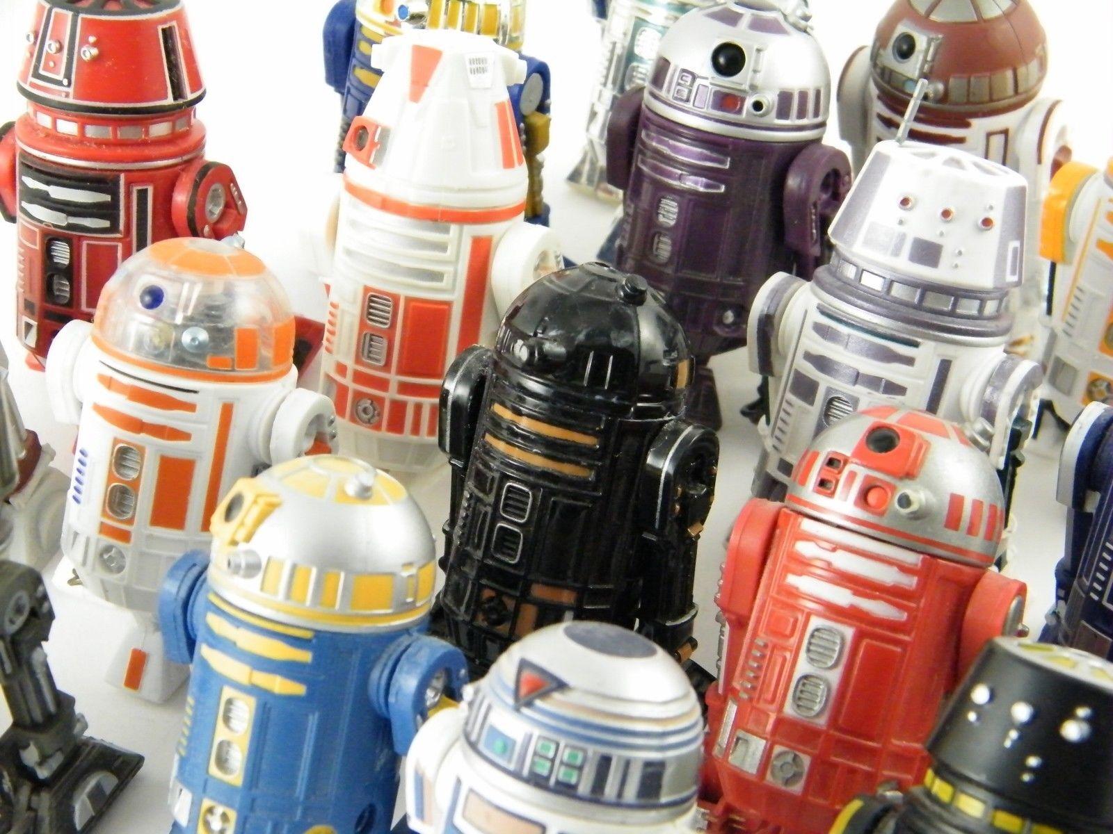 Star Wars R2 Astromechs & Rare Droid Figurines