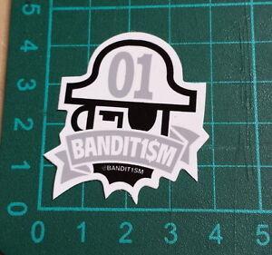 BANDIT1SM-STICKER-123-Klan-Bandit1-M-4x4cm-STREET-ART-PEGATINA-DECAL-GRAFFITI