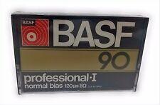 VINTAGE BASF PROFESSIONAL I 90 BLANK AUDIO CASSETTE TAPE (1) (SEALED) FREE SHIP