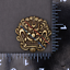 10X-33mm-Solid-Brass-Chinese-Dragon-Head-Conchos-Screw-Back-Leather-Craft-Decor miniature 9