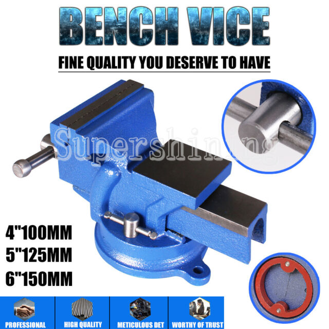 "6-inch Heavy Duty Semi Precision Engineers Bench Vise Swivel Base 6/"""
