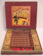 Old Antique French Game Les Chapeaux Valseurs Hands Flip Hats Circus Clown Lid