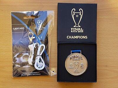 UEFA Champions League Final Kiev 2018 Special Edition Medal Real Madrid Kings