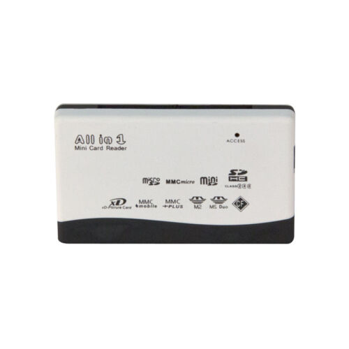 SD//SDHC//XD//MMC//T-Flash USB 2.0 All-in-One Multi Slot Memory Card Reader//Writer