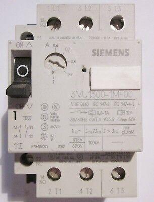 SIEMENS  Motorschutzschalter 3VU1300-1MG00 1-1,6 A