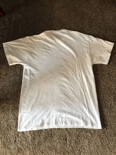 L@@K Pabst Blue Ribbon Milwaukee Beer White T shirt Size XL BRAND NEW