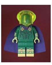CUSTOM minfigure BATMAN come Mysterio & TRANS CASCO verde stampata su parti LEGO