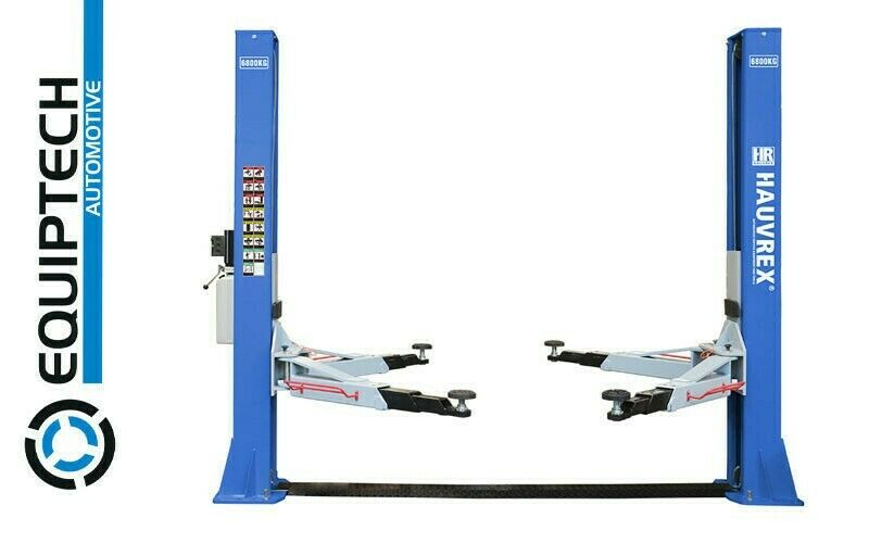 FOUR TON LIFT CAPACITY - 2 POST SERVICE LIFT WITH BASE - MODEL HTL2140