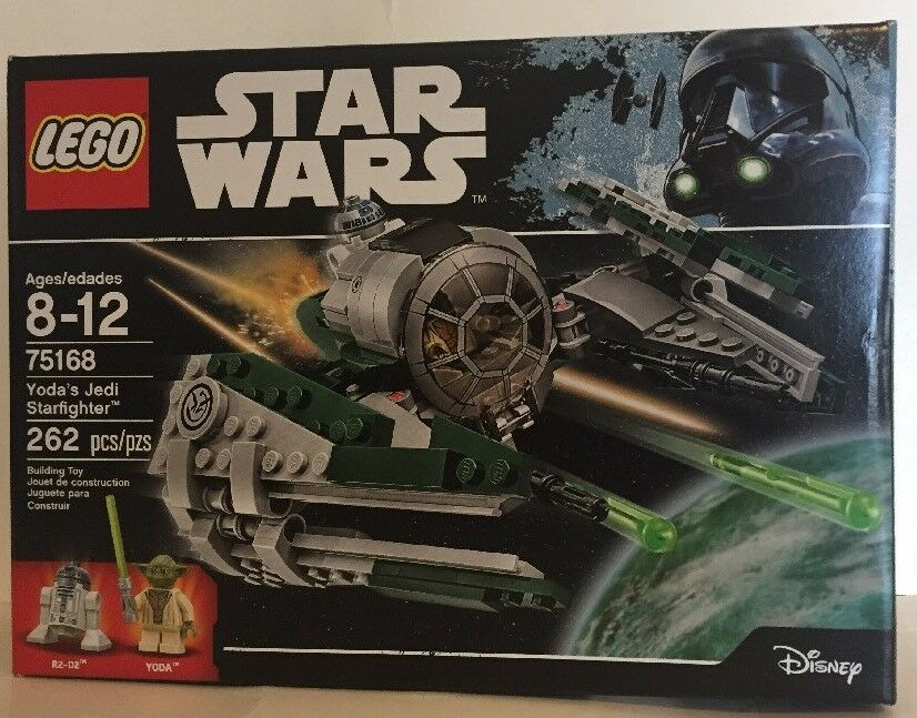 LEGO Star Wars Yoda's Jedi Starfighter 75168 Star Wars Toy New Sealed A