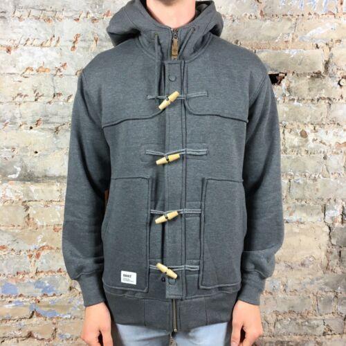 New Duffel cappuccio con Hooded Felpa S con Gray In Brand Addict cappuccio nxwqpnAF8E