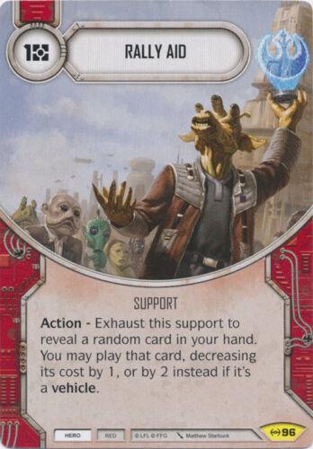 Empire at War Uncommon 96    NM Destiny 2x  Rally Aid