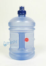 BPA Free Plastic Water Bottle Half Gallon Blue Liter Container Jug Canteen Aqua