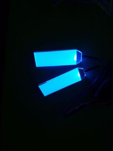 1:1 Led Light Eyes For Ironman// Batman//Black Panther Helmet Pumpkin DIY Blue