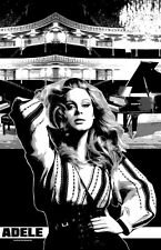 """Adele """"Black Light"""" Poster (2)"""