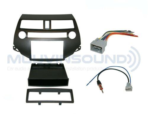 Radio Dash Kit Combo SD//DD SINGLE ZONE Antenna HO13 Wire Harness