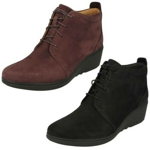 Zapatos de mujer baratos zapatos de mujer Mujer Clarks bajo Onu Tacón Plataforma Botines ' Onu bajo Tallara Eva ' 3b968c