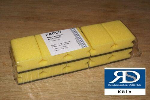 Floorstar PS1YS  Küchenschwamm Kratzschwamm Topfreiniger 100 Stück 9,5*7*4,5 cm