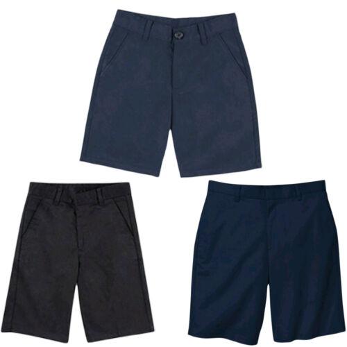 George Boy/'s School Uniforms Flat Front Shorts