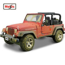 Maisto 1:24 Old Friends Jeep Wrangler Rubicon Diecast Model Car Pickup NEW INBOX